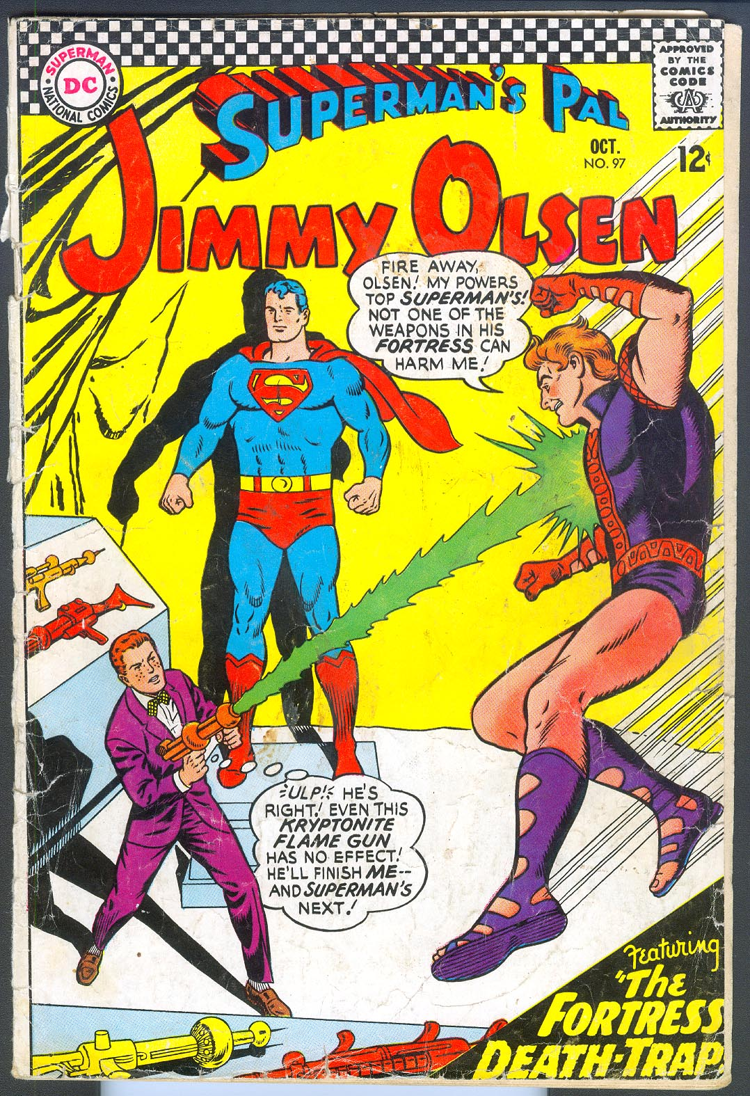 Supermans Pal Jimmy Olsen 97 -G