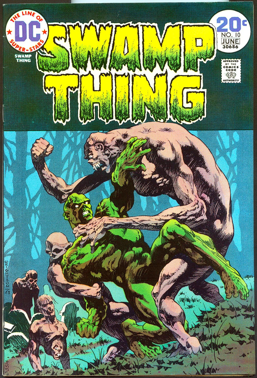 Swamp Thing vol 1 - 10 -VF