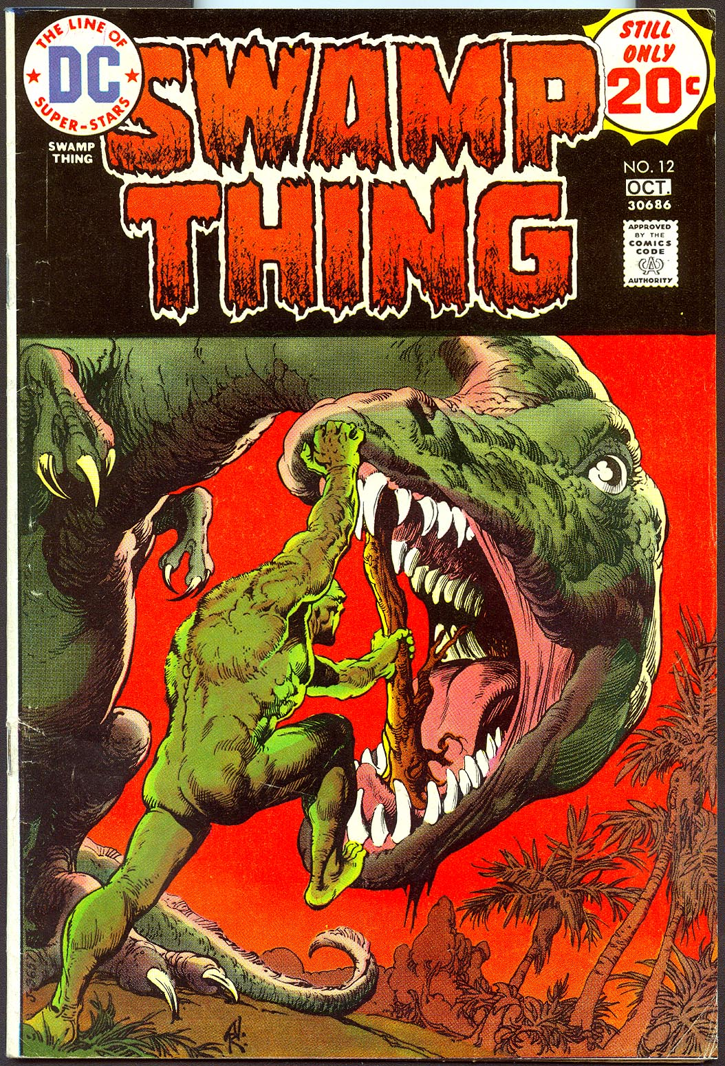 Swamp Thing vol 1 - 12 -F