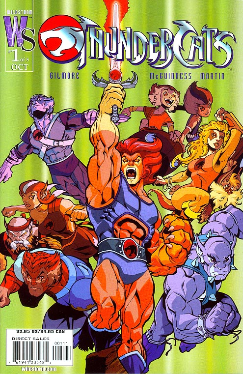 Thundercats (Wildstorm) 1 (of 5 ) (Ed Mc Guiness Variant Cvr)