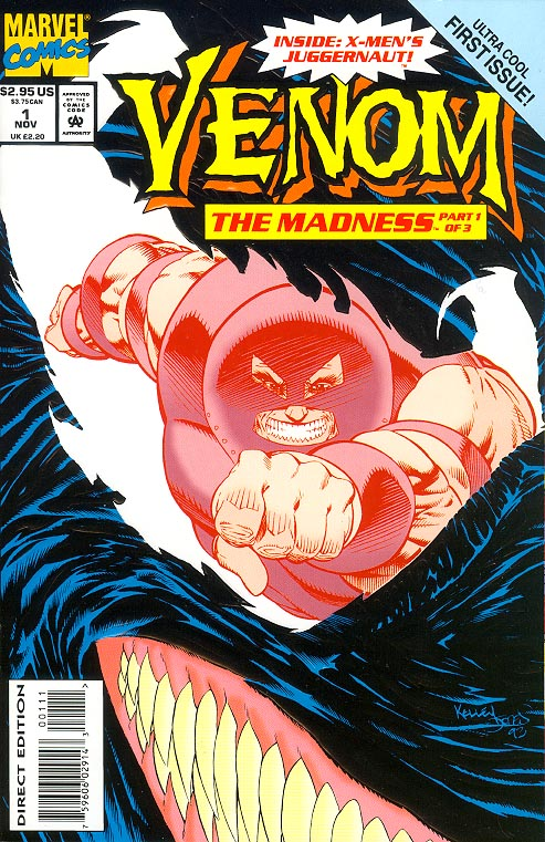 Venom The Madness 1 (Embossed Cvr)