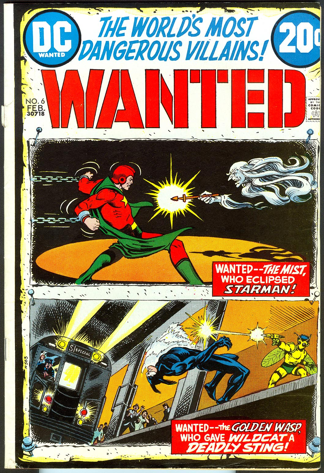 Wanted The Worlds Most Dangerous Villains 6 -fvf