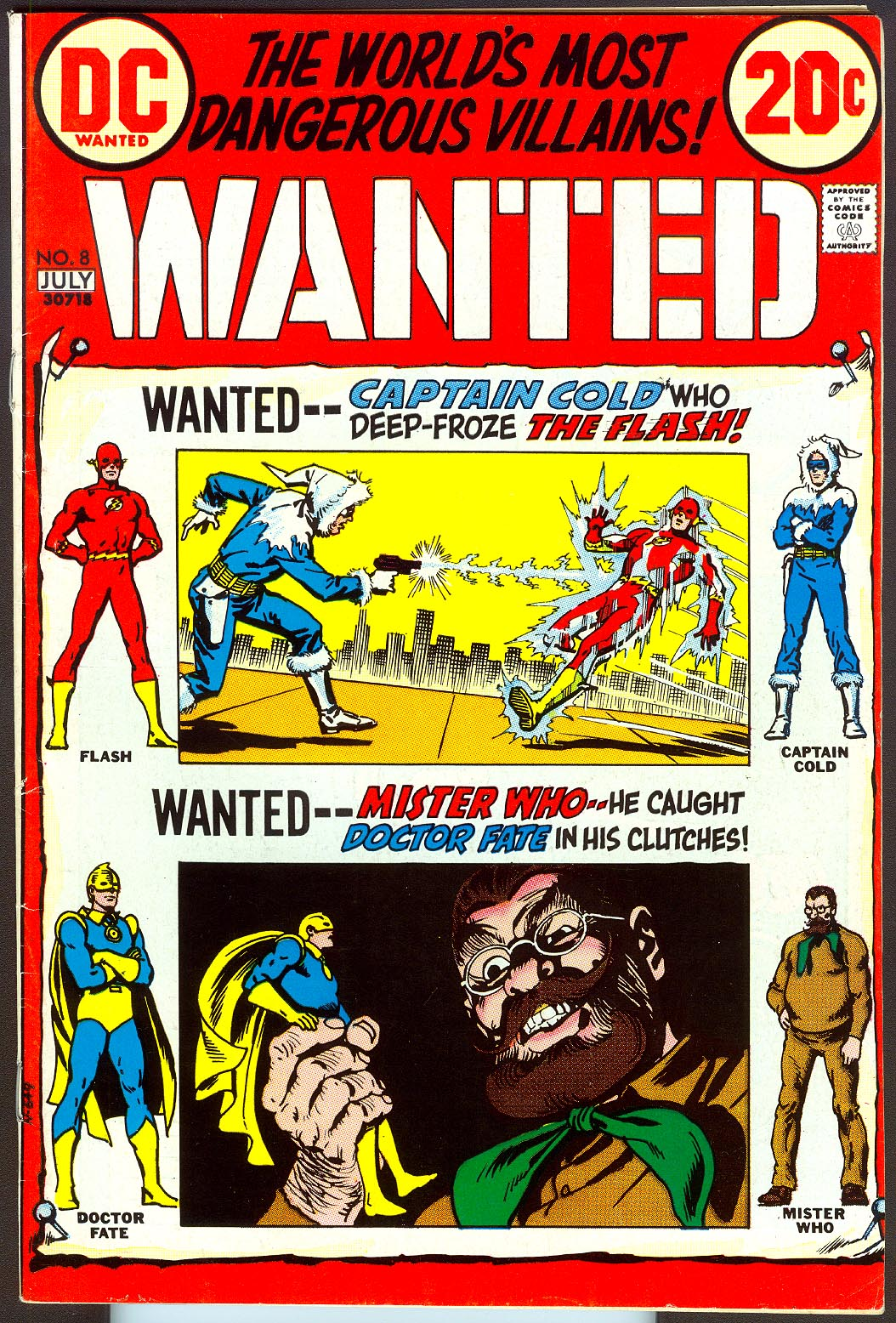 Wanted The Worlds Most Dangerous Villains 8 -VF