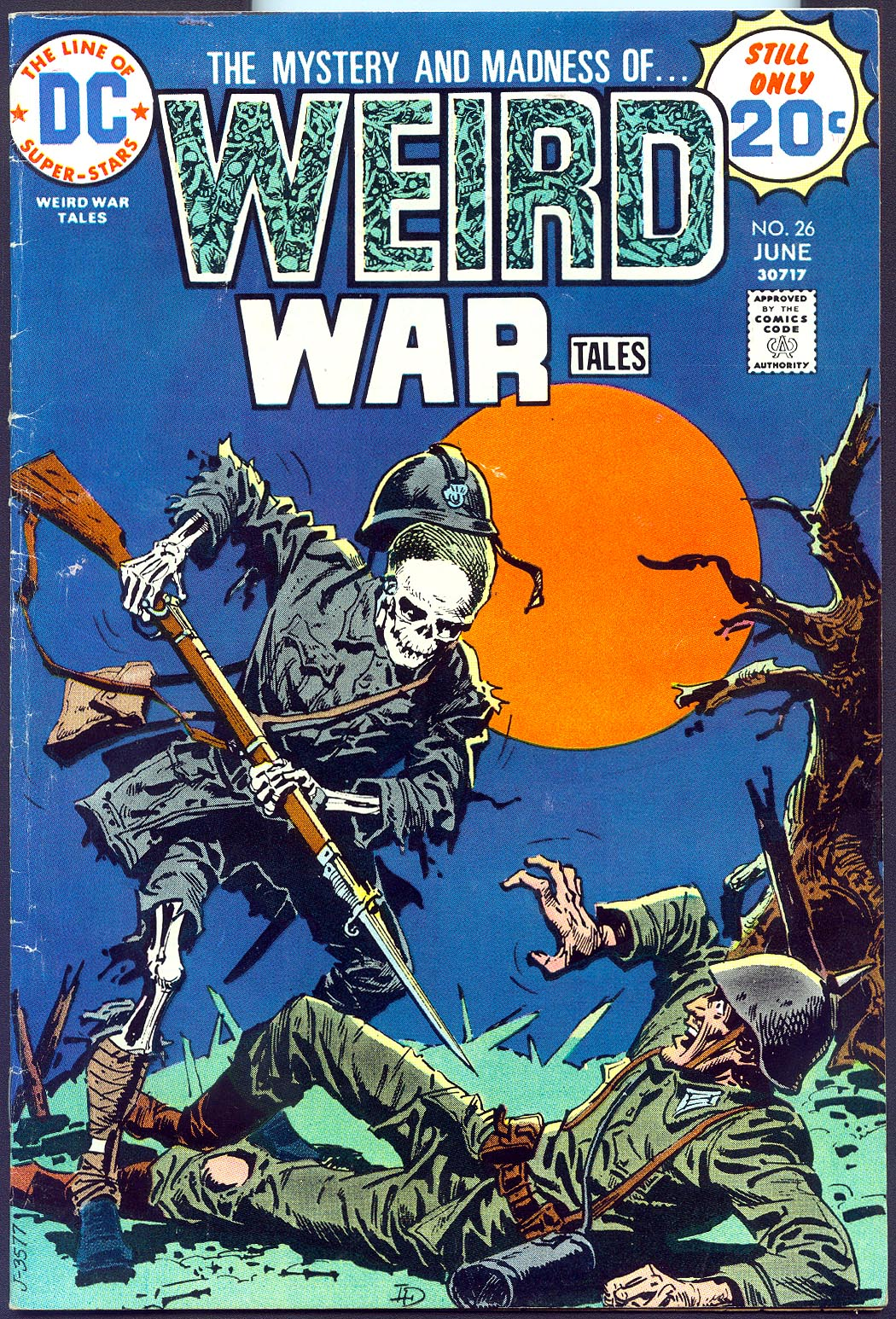Weird War Tales 26 -FVF