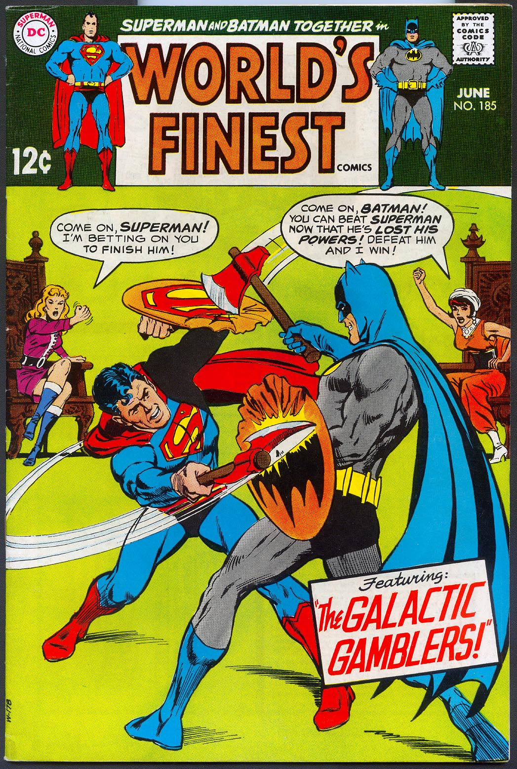 Worlds Finest 185 -VF