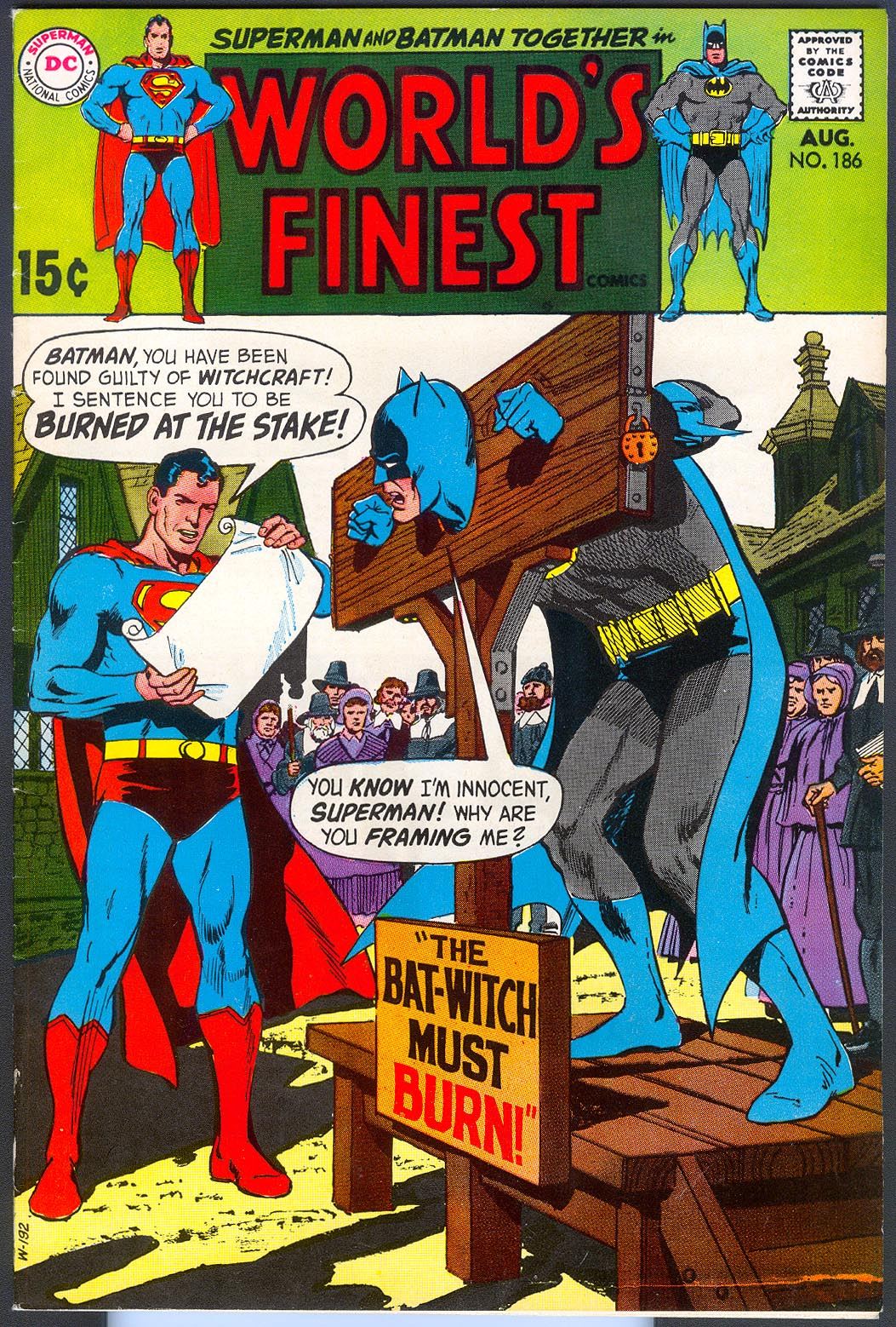 Worlds Finest 186 -VF
