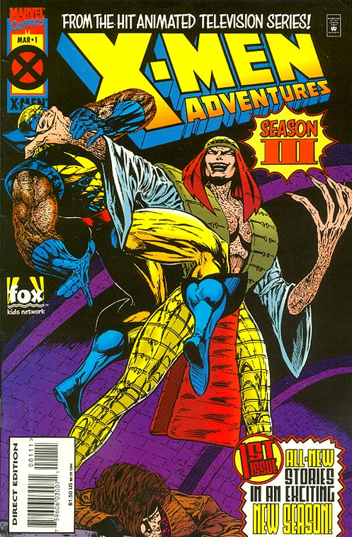 X-Men Adventures (III) vol 3 - 1 -VF