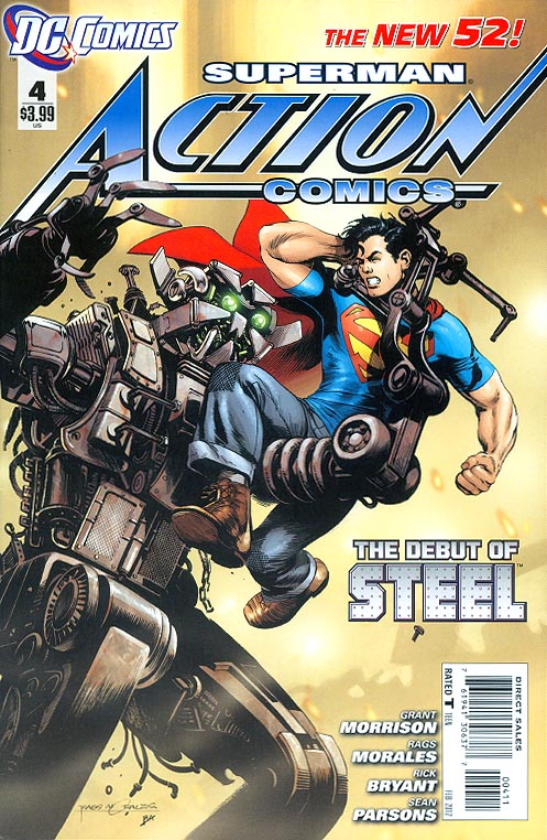 Action Comics (New 52 ) vol 2 - 4