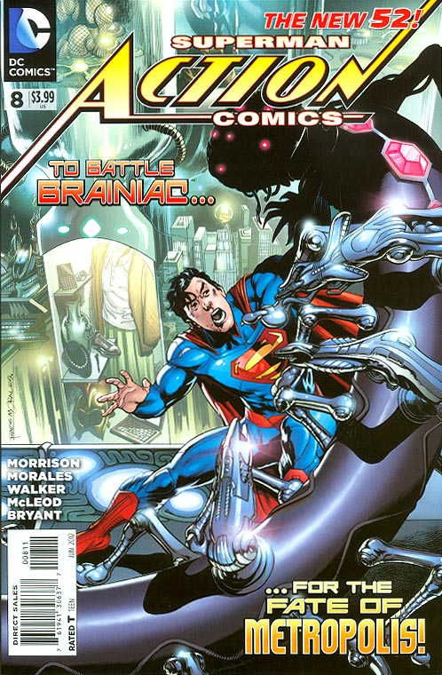 Action Comics (New 52 ) vol 2 - 8
