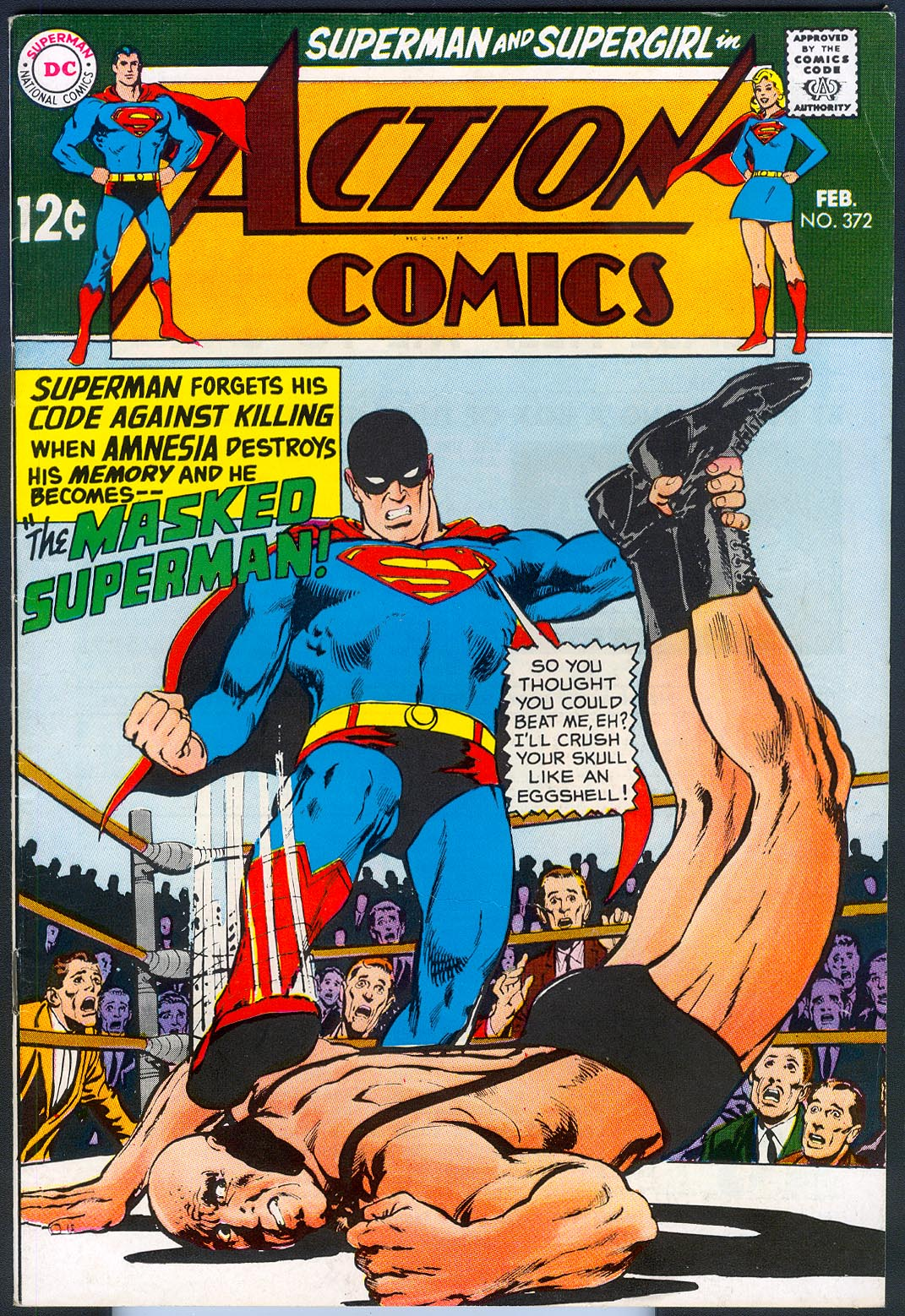 Action Comics 372 -VF