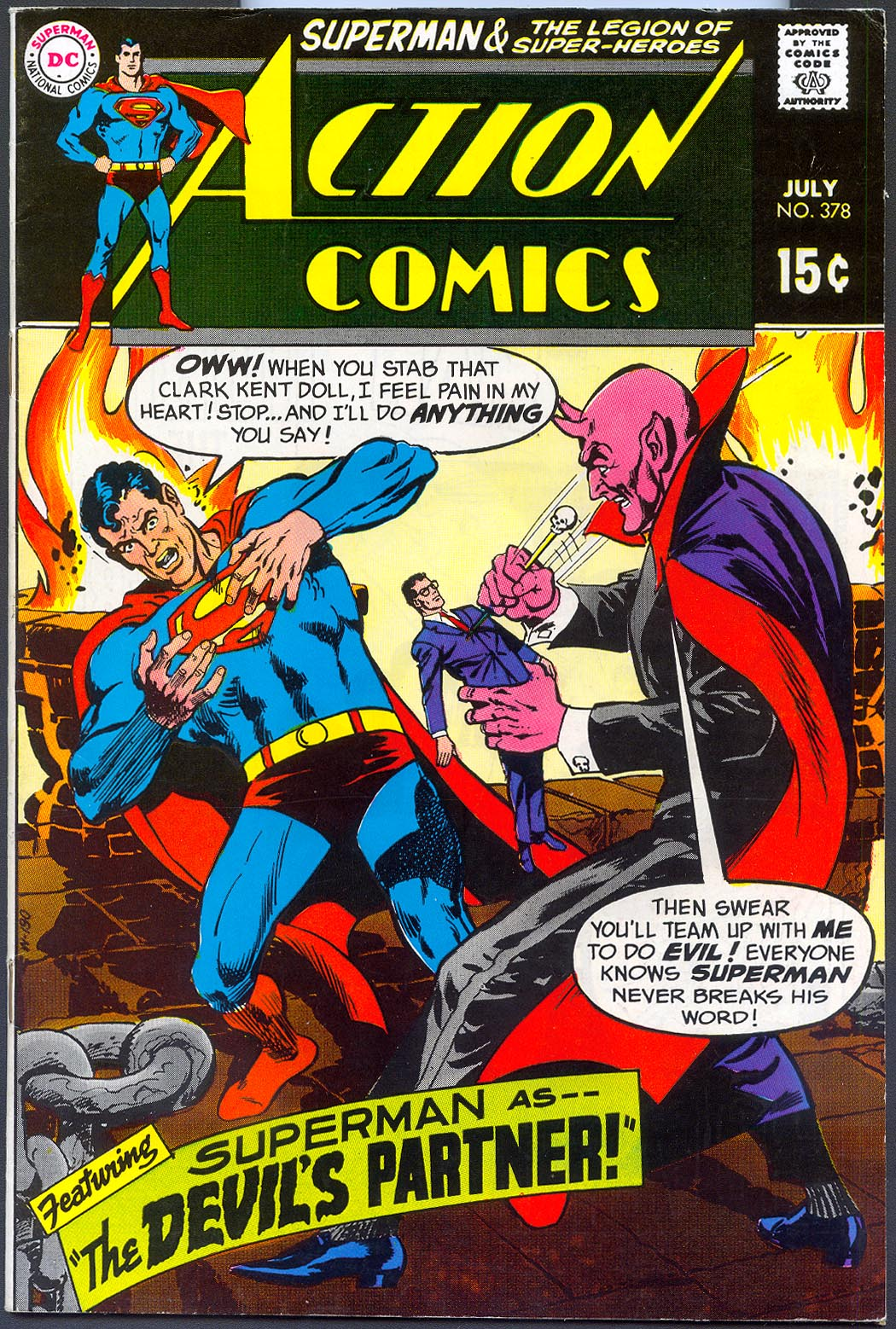 Action Comics 378 -VF