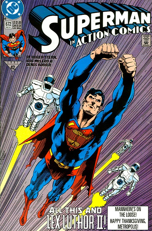 Action Comics 672 -VF