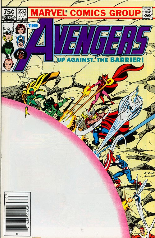 Avengers 233 (Canadian Newstand Variant)