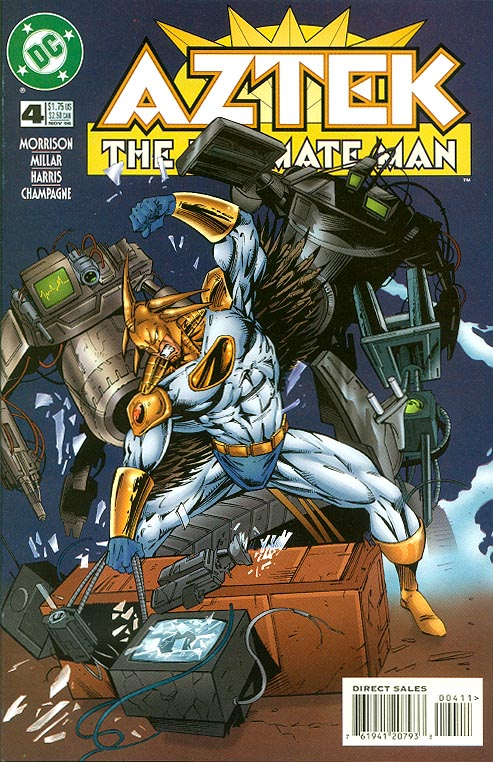 Aztek The Ultimate Man 4 -VF