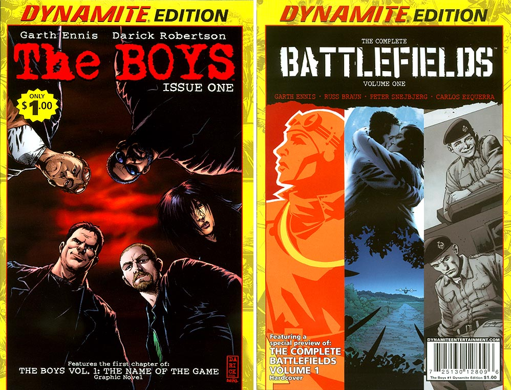 Boys Dynamite Edition 1 (Battlefields 1 Flip Book)