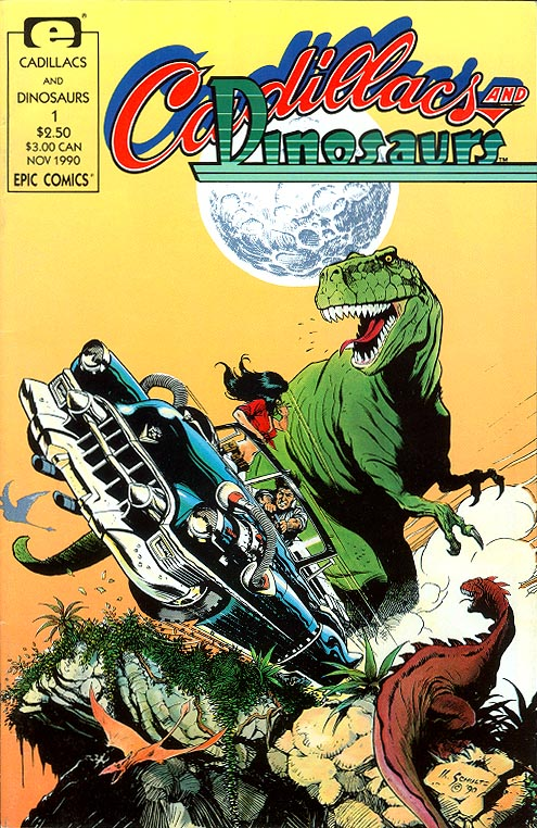 Cadillacs And Dinosaurs vol 1 - 1 -VF