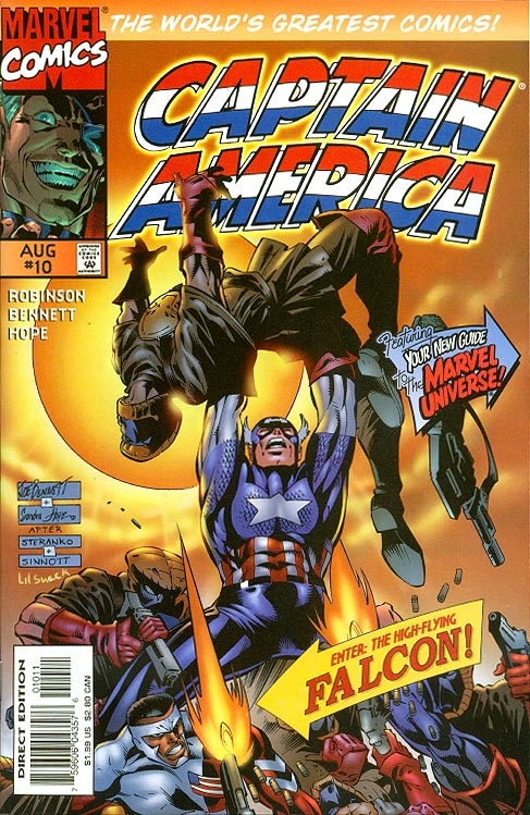 Captain America vol 2 - 10