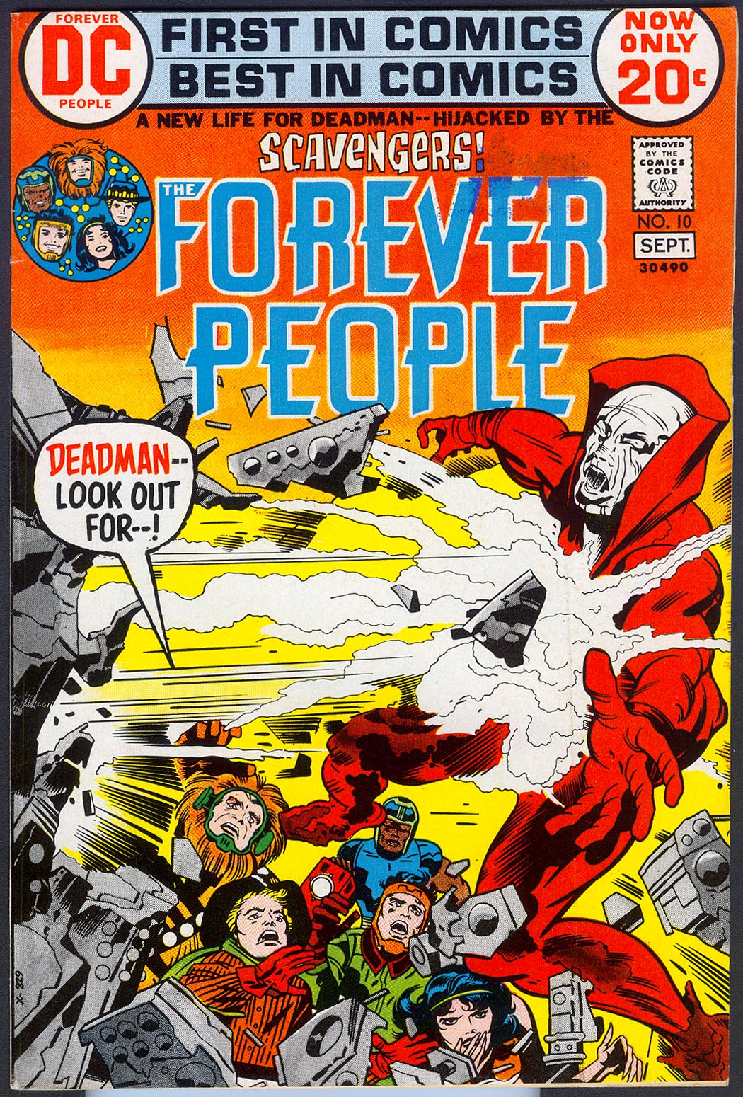 Forever People 10 -VF