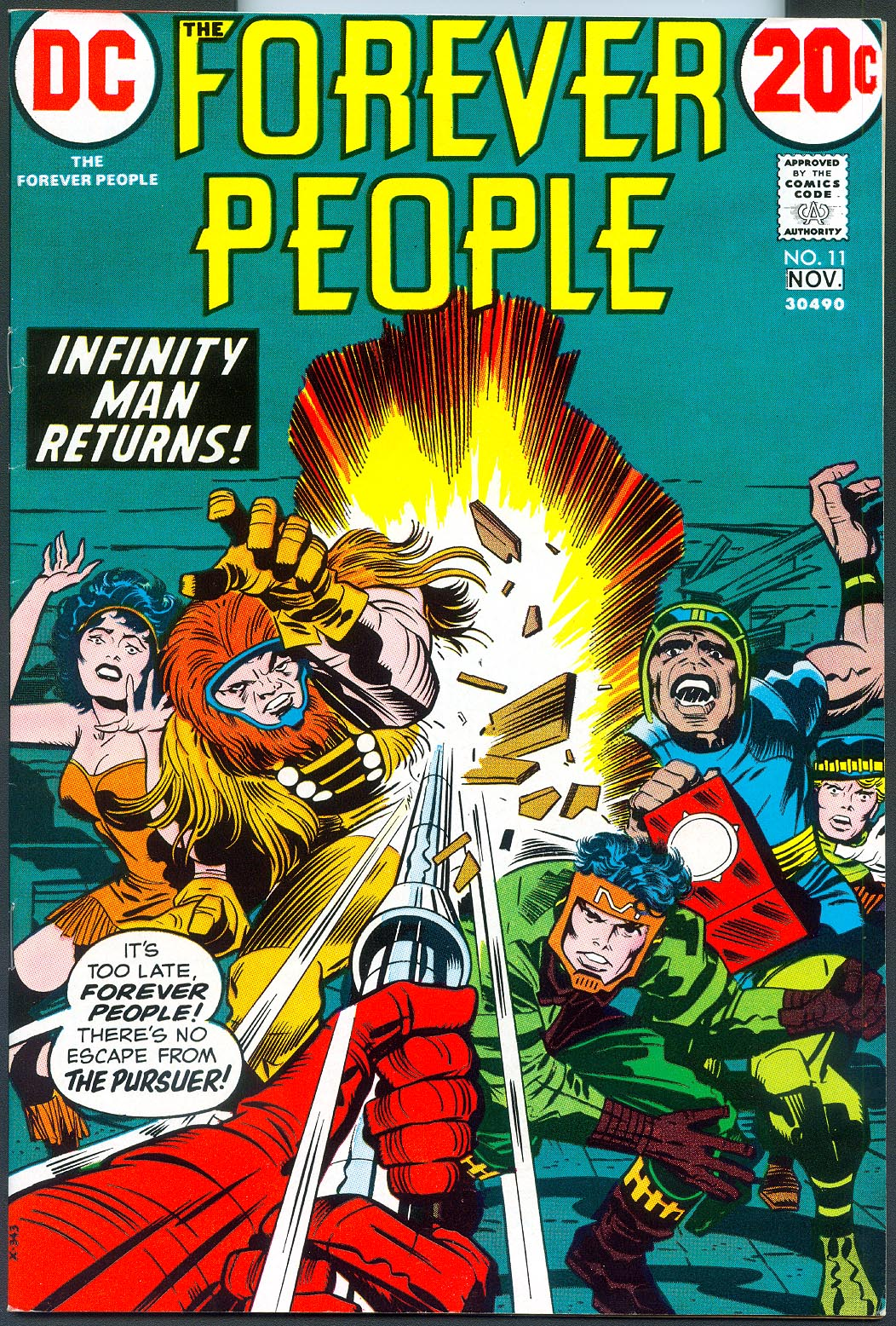 Forever People 11 -VF