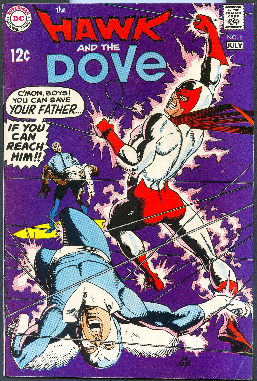 Hawk And Dove 6 -VF