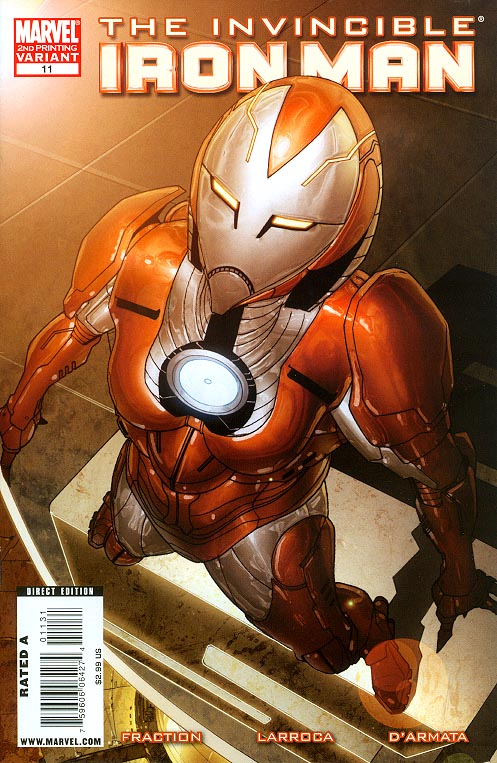 Invincible Iron Man vol 5 - 11 ( 2 nd Print Variant)