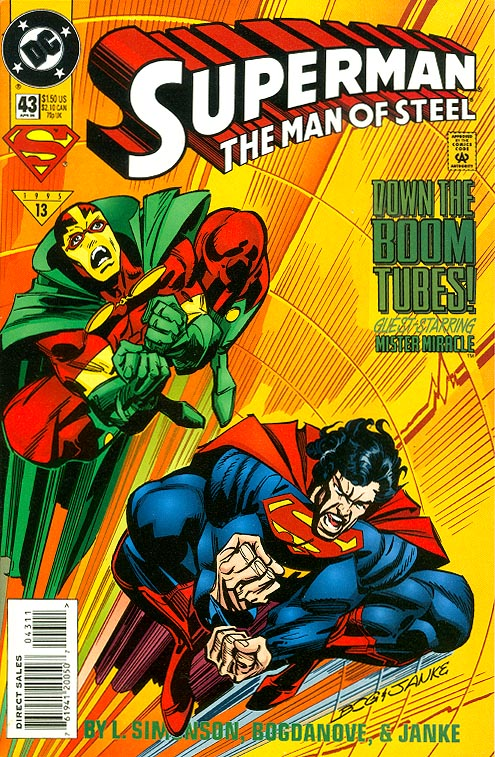 Superman The Man Of Steel 43