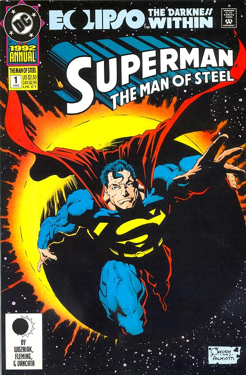 Superman The Man Of Steel Annual 1