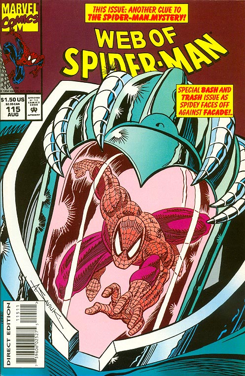 Web Of Spider-Man 115
