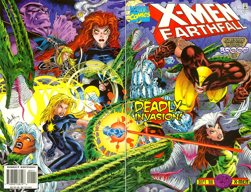 X-Men Earthfall 1