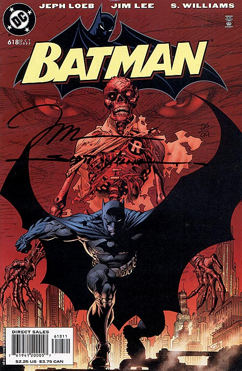 Batman 618 (DF Signed By Jim Lee & Scott Williams 1 of 99 )