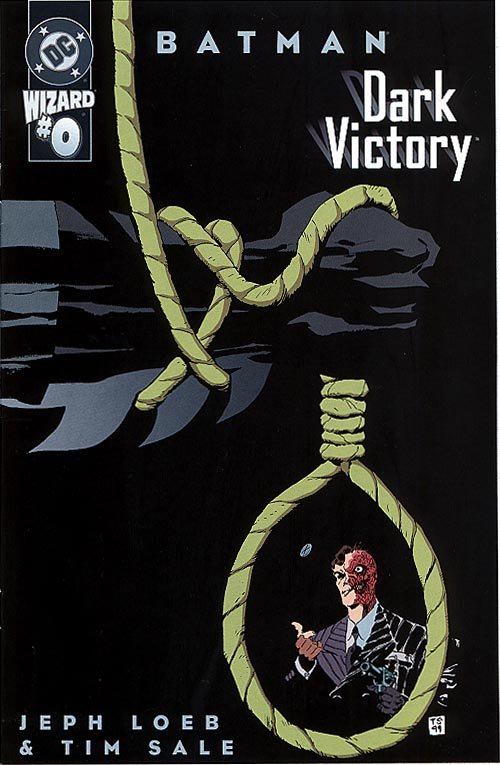 Batman Dark Victory 0 (Wizard Supplement)