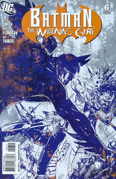 Batman The Widening Gyre 6 (of 6 )