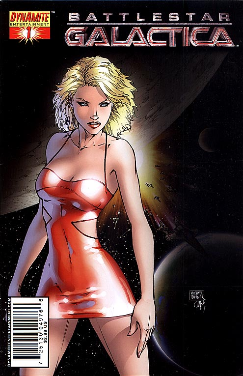 Battlestar Galactica 1 Michael Turner Cover