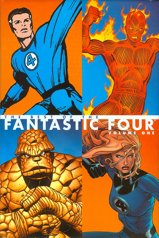 Best Of The Fantastic Four HC 1