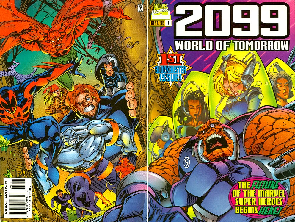 2099 World Of Tomorrow 1 (Wrap Cover)