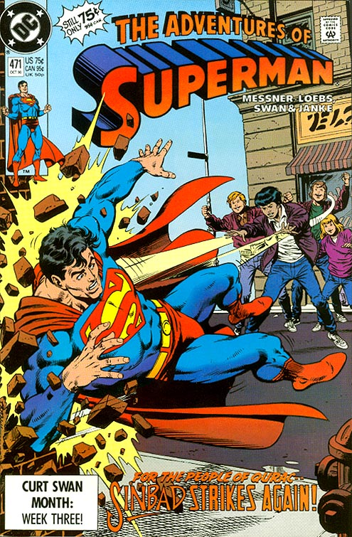 Adventures Of Superman 471 -VFNM