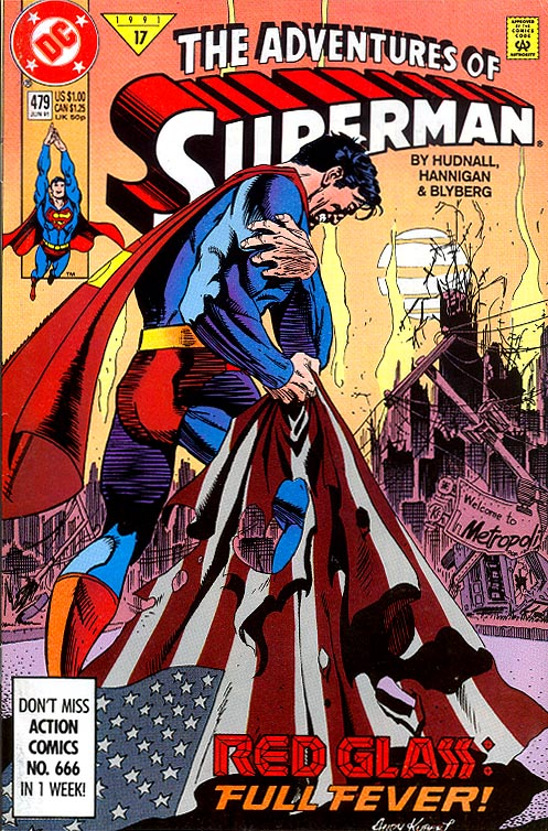Adventures Of Superman 479 -VF