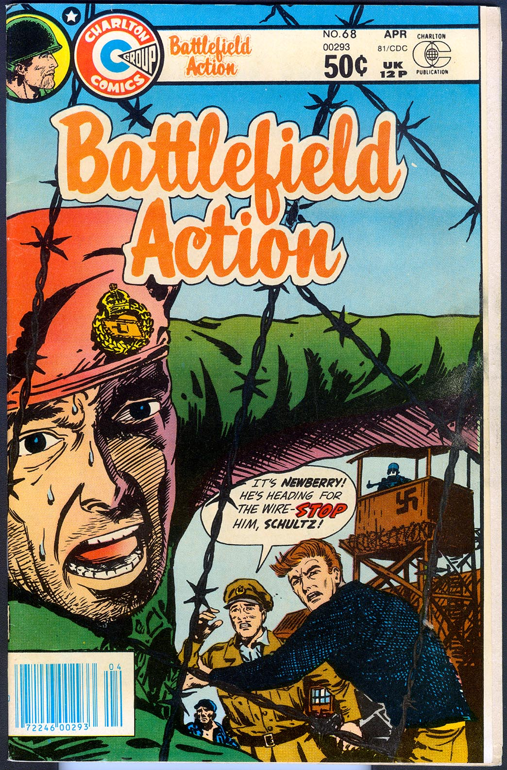 Battlefield Action (Charlton) 68 F (SB 22 )