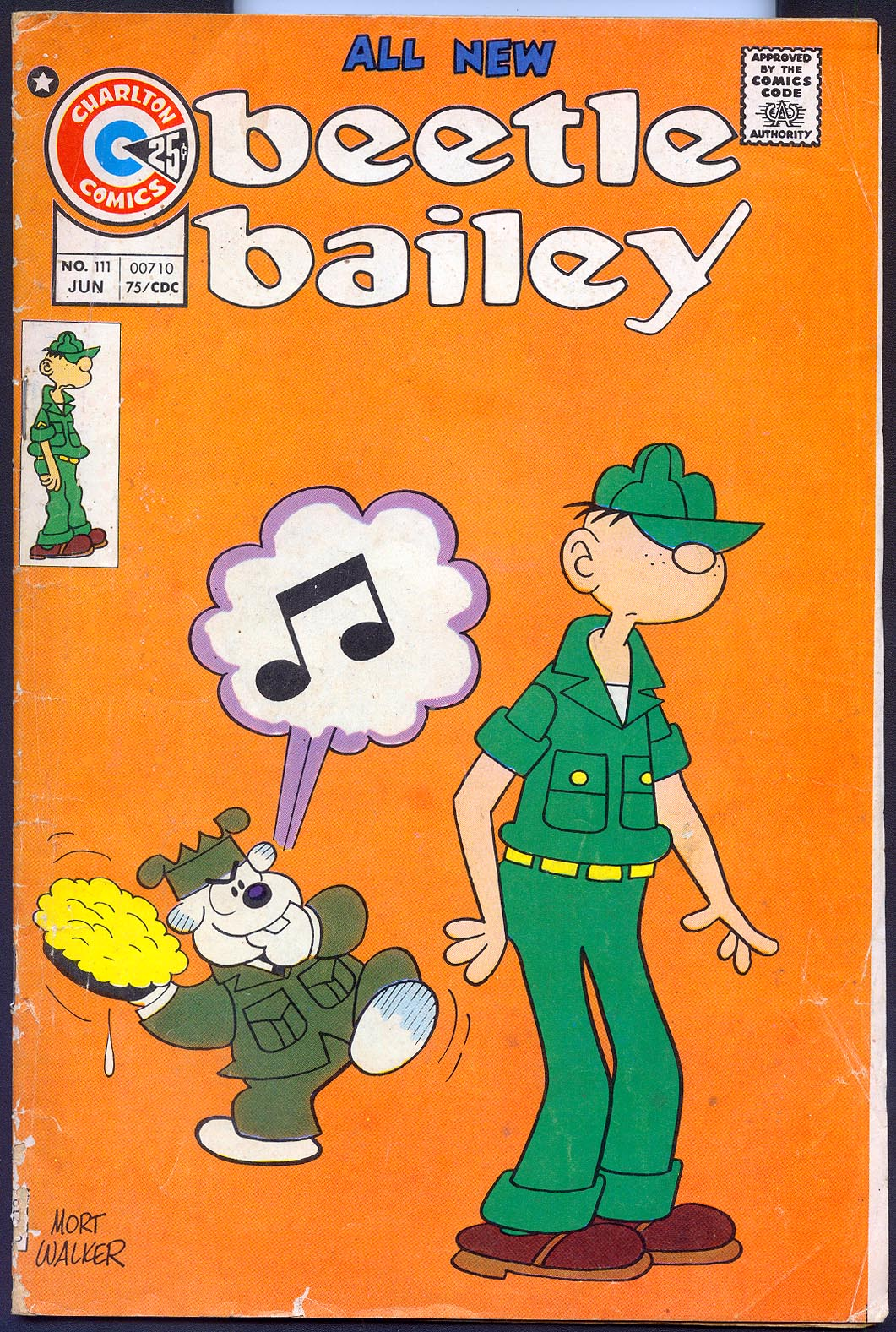 Beetle Bailey (Charlton) 111 -VG