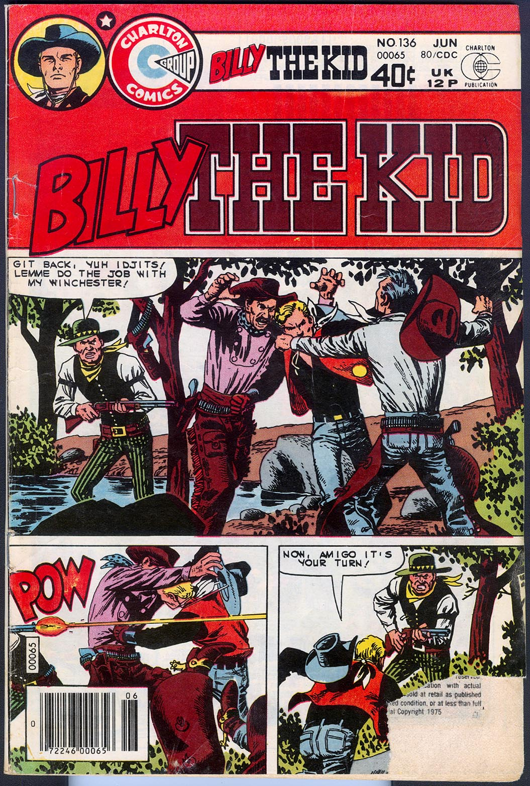 Billy The Kid (Charlton) 136 -G