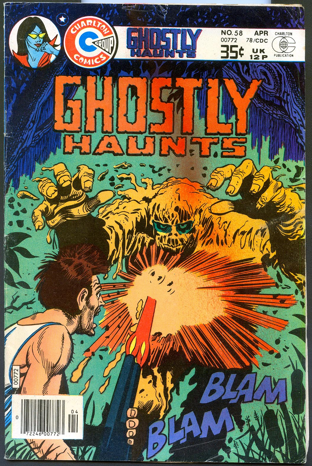 Ghostly Haunts (Charlton) 58 -VG