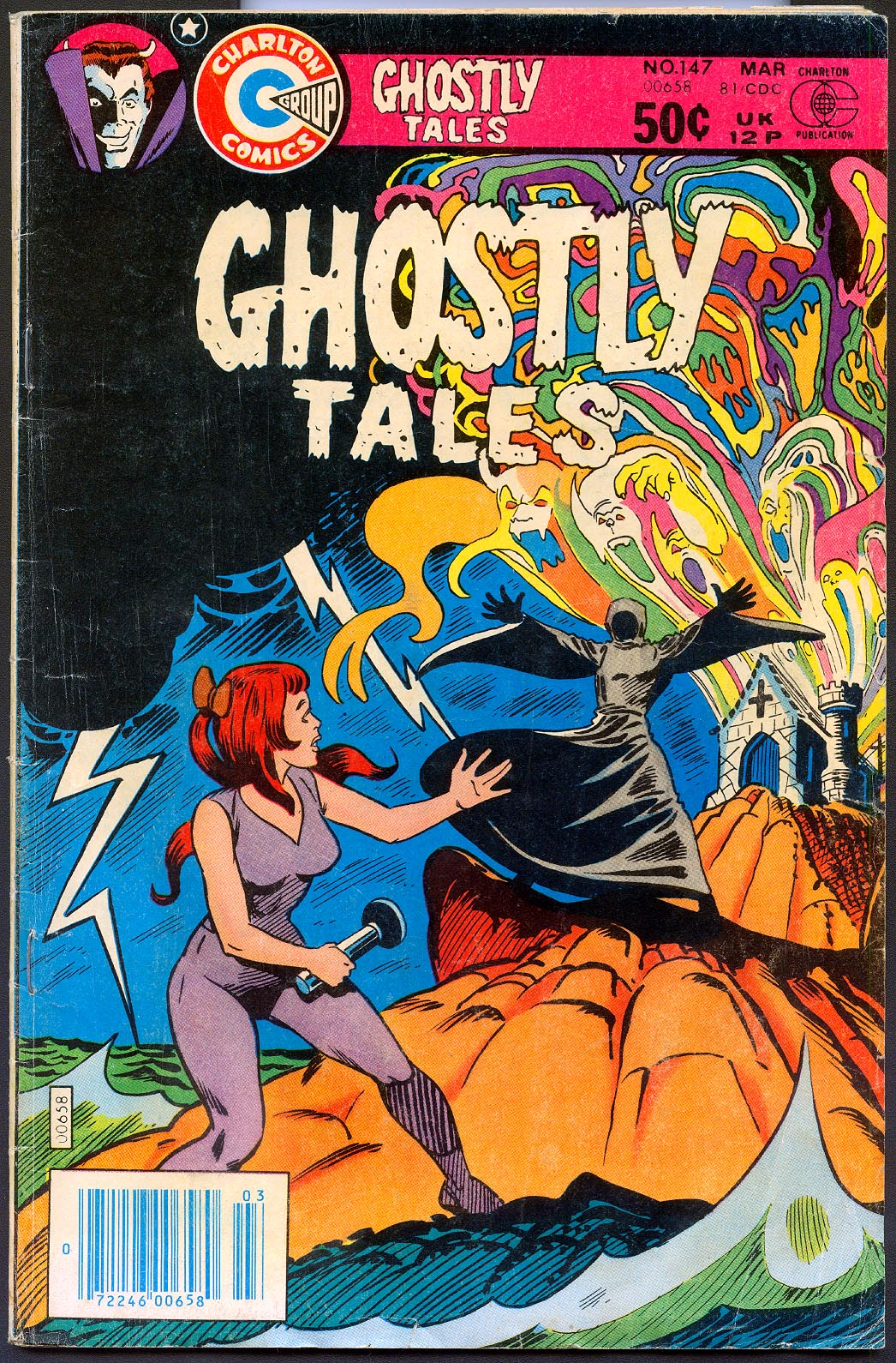 Ghostly Tales (Charlton) 147 -VG