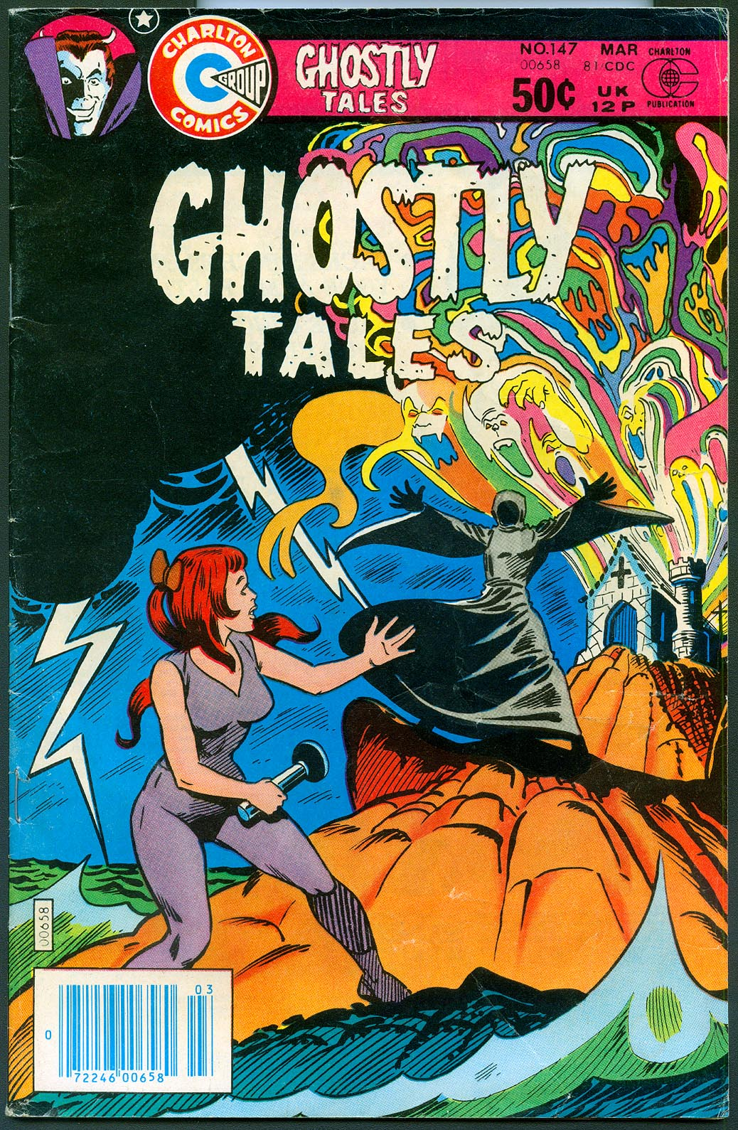 Ghostly Tales (Charlton) 147 -VG 2