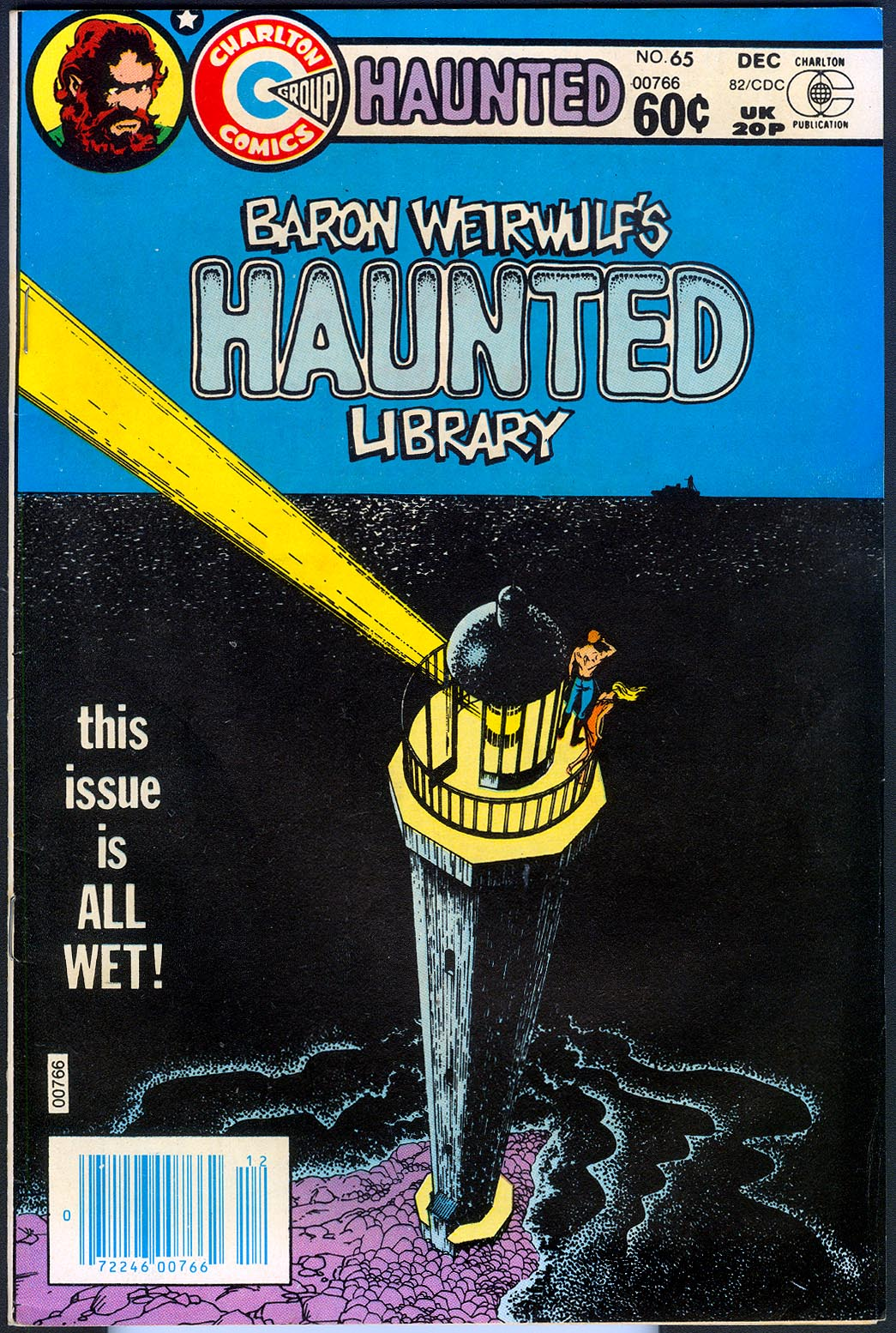 Haunted (Charlton) 65 -VF