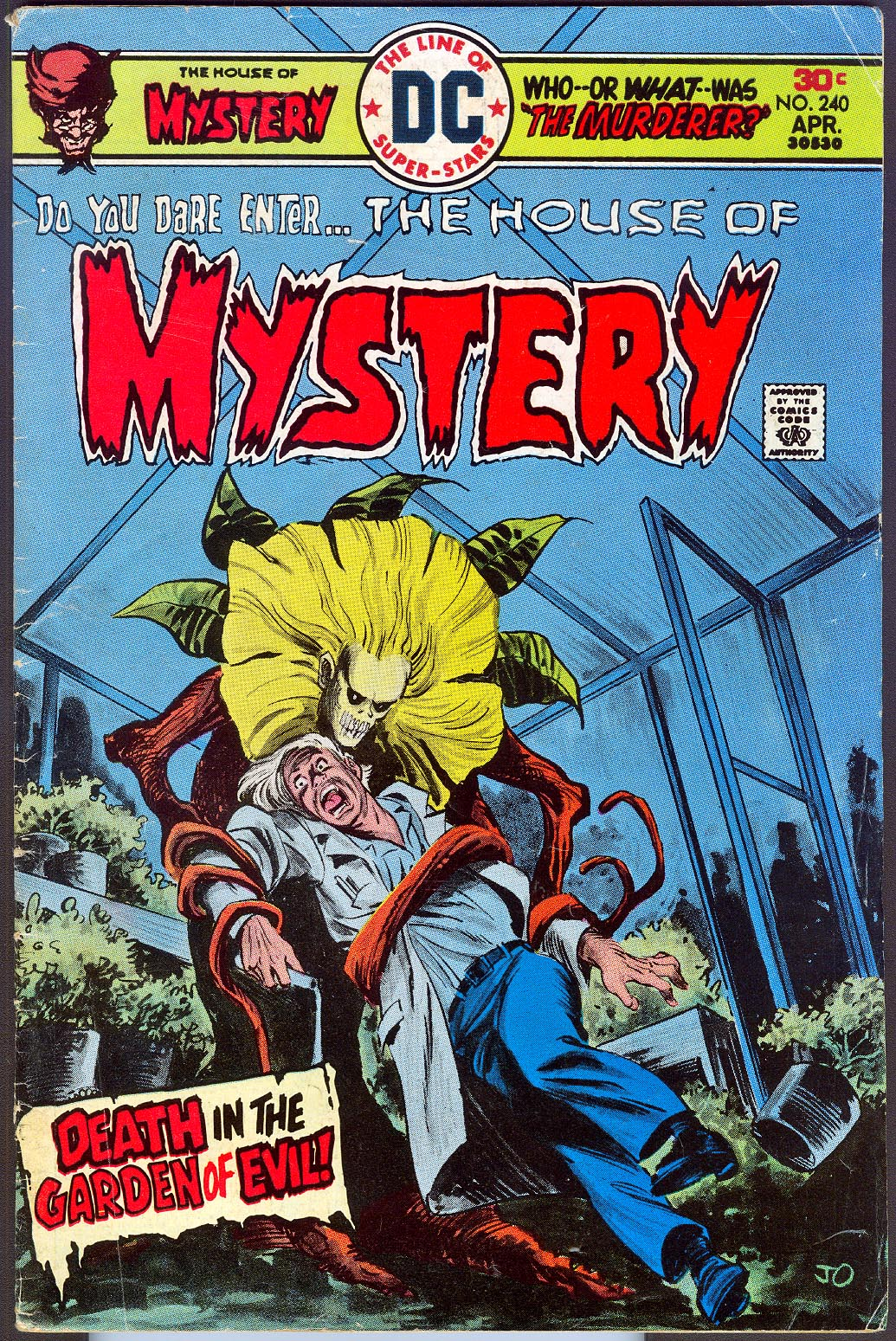 House Of Mystery 240 -VG