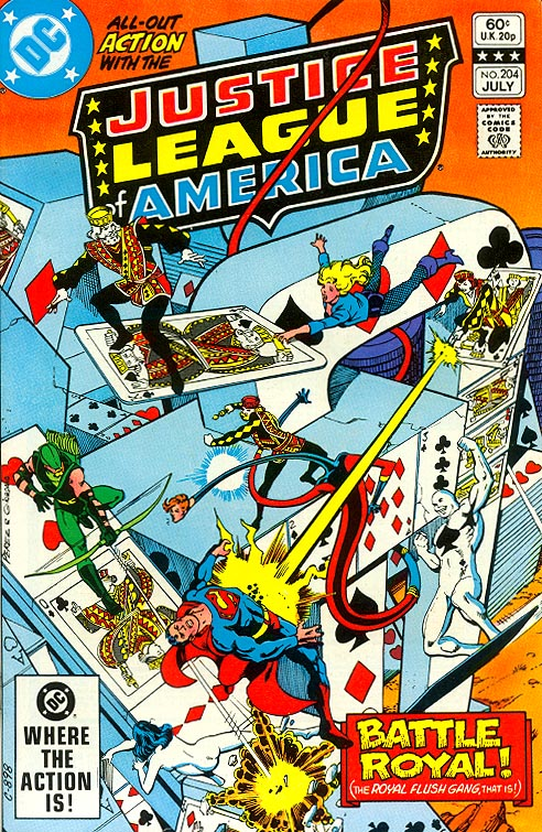 Justice League Of America 204