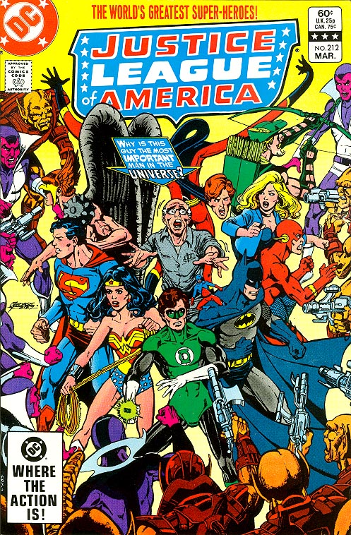 Justice League Of America 212 -VFNM