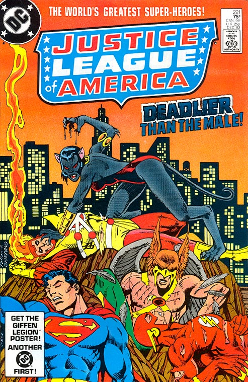 Justice League Of America 221 -VFNM