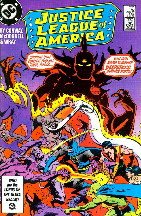 Justice League Of America 252 -VFNM