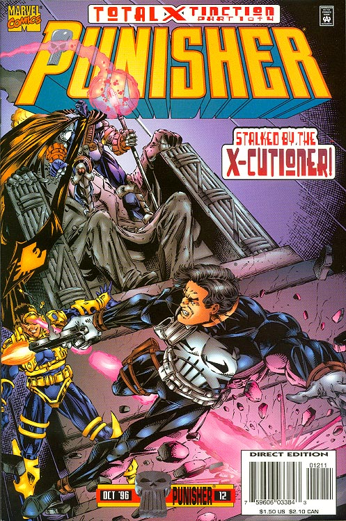 Punisher vol 3 12 -VFNM